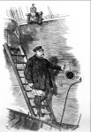 El capitan abandona el barco caricatura de Punch